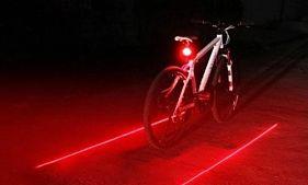señalización láser para bicicletas lasertronic