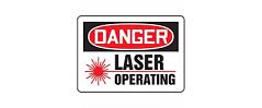 seguridad proyectores láser lasertronic