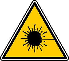 precacion láser lasertronic
