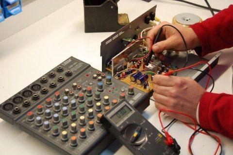 reparacion sonido prpfesioanl